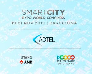 ADTEL asiste al Smart City Expo World Congress 2019