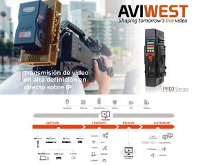 Tecnonews talks about the high-quality streaming system Aviwest distributed by NRD multimedia