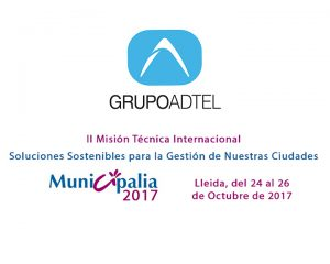 GrupoADTEL participates again in MUNICIPALIA, the international fair of municipal services