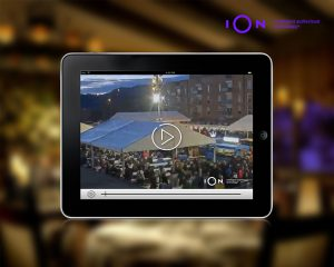 The automatic solution iOn offers a timelapse of La Candelera 2018 fair