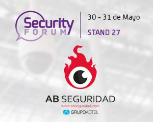 AB Seguridad-GrupoADTEL will be present at the Security Forum 2018